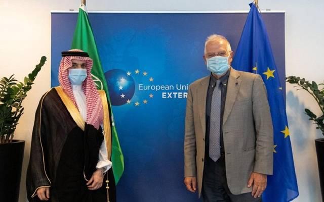 وزير الخارجية السعودي يبحث تعزيز التعاون مع النمسا والاتحاد الأوروبي