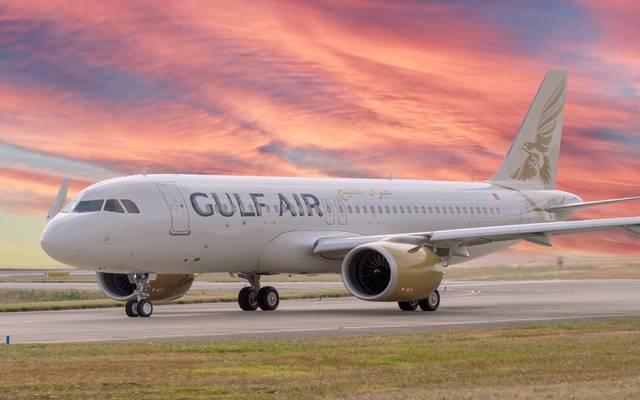 طائرة تابعة لشركة طيران الخليج البحرينية