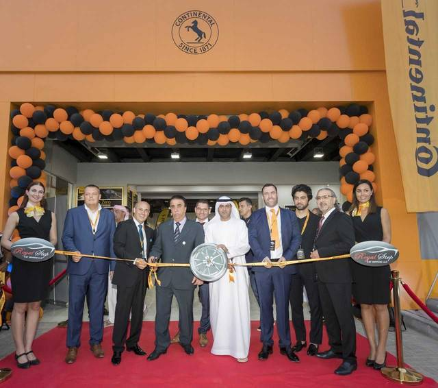 Continental launched its new flagship facility in partnership with Royal Step Car Services