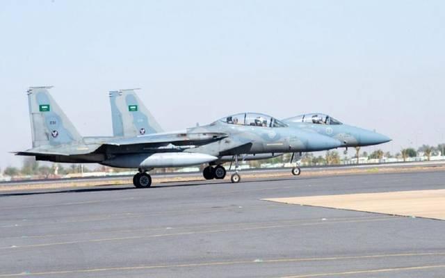 """طائرات القوات الجوية الملكية السعودية """"F-15C"""""""