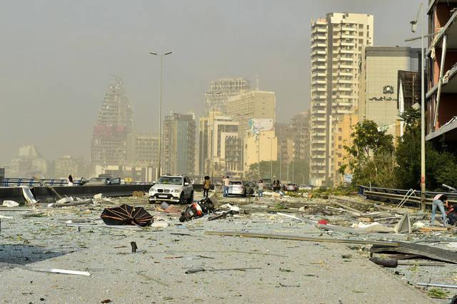 انفجار بيروت - أرشيفية