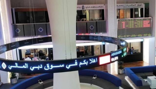 The market cap value increased by AED 510m