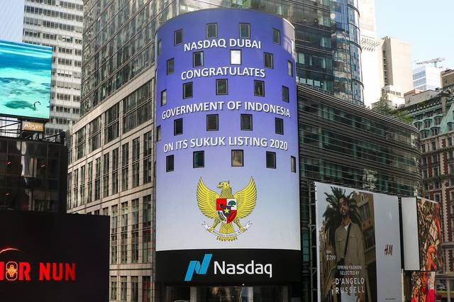 Indonesia is the largest Sukuk issuer on Nasdaq Dubai