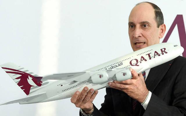 الرئيس التنفيذي لمجموعة الخطوط الجوية القطرية أكبر الباكر