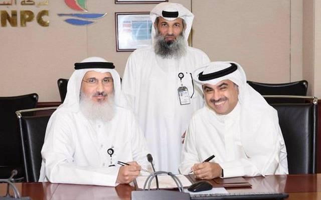 جانب من مراسم توقيع الاتفاقية