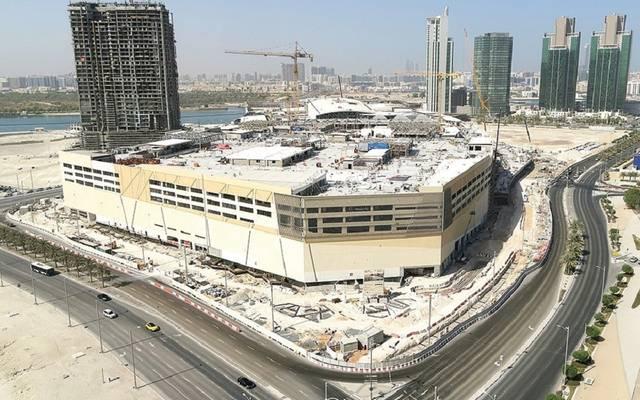 """موقع مشروع """"ريم مول"""" في أبوظبي بدولة الإمارات العربية المتحدة"""