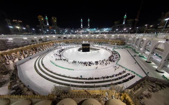 المسجد الحرام في مكة المكرمة خلال أزمة كورونا