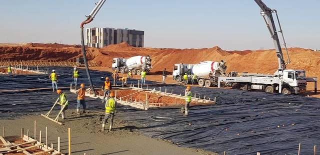 A total of 478 units in the first phase are currently being established