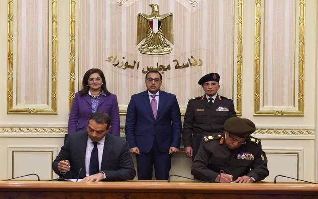 خلال توقيع اتفاقية التعاون المشترك