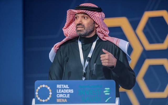 وزير العمل السعودي أحمد الراجحي خلال قمة قادة قطاع التجزئة المنعقدة بالهيئة العامة للاستثمار