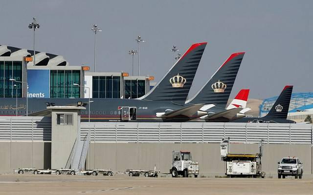 أحد مطارات الأردن