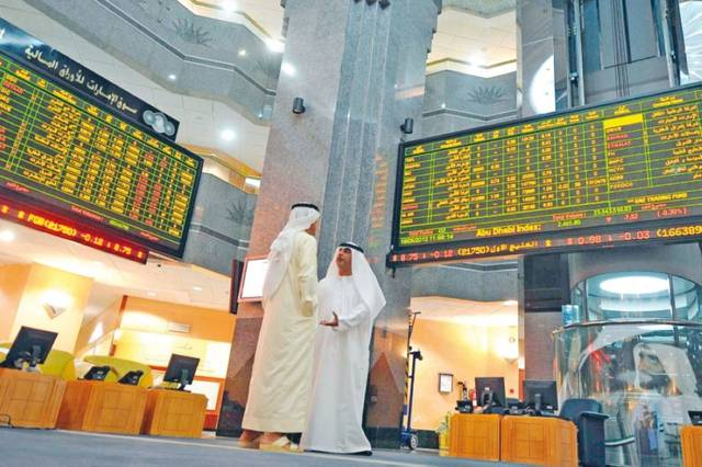 The market cap value increased by AED 900m