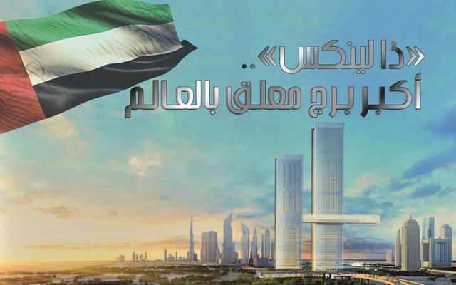 شركة «إثراء دبي» تعتزم تشييد «ذا لينكس» بدبي ليصبح أكبر مبنى معلق في العالم