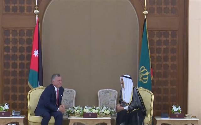 ملك الأردن وولي عهده يصلان الكويت في زيارة رسمية