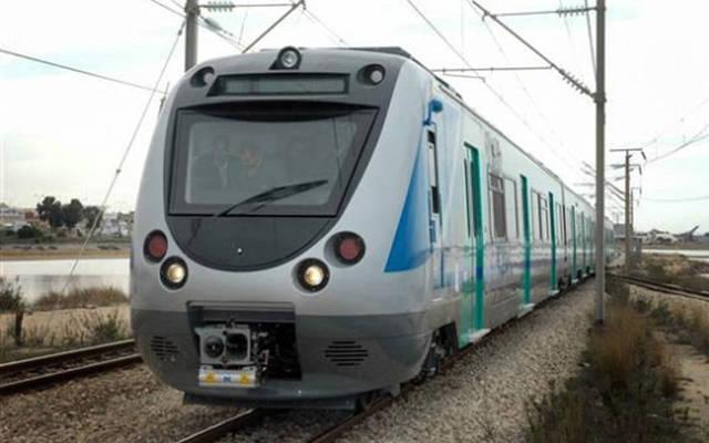 قطار تابع للوطنية للسكك الحديدية التونسية