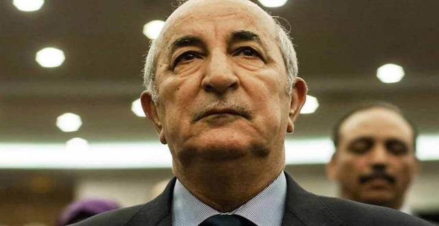 عبد المجيد تبون رئيس الجزائر الجديد