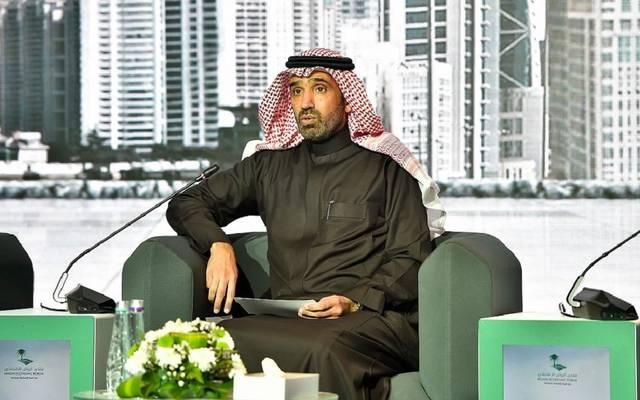 وزير العمل والتنمية الاجتماعية السعودي، أحمد بن سليمان الراجحي، خلال كلمته بمنتدى الاقتصادي بالرياض