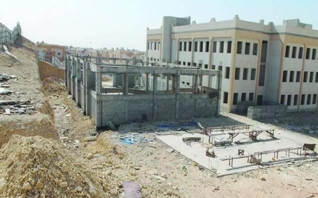 أعمال إنشاء مدرسة في العراق
