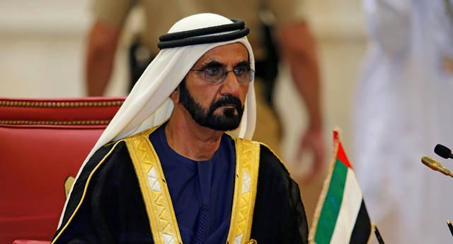 الشيخ محمد بن راشد آل مكتوم نائب رئيس الدولة رئيس مجلس الوزراء حاكم دبي، الصورة أرشيفية