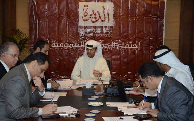 Al Deera's debts totalled KWD 12.82 million