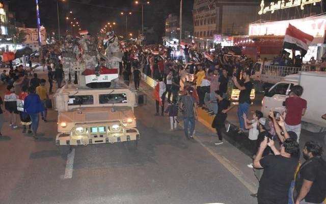 تظاهرات بالشوارع العراقية خلال الأيام الماضية