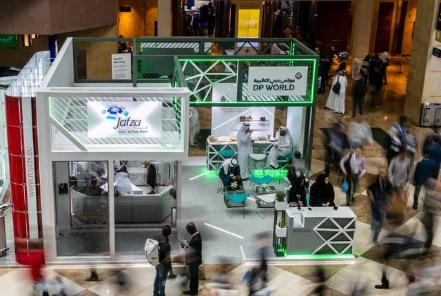 جناح جافزا في معرض الصحة العربي