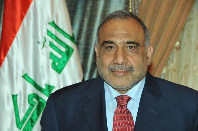رئيس الوزراء العراقي، القائد العام للقوات المسلحة عادل عبدالمهدي