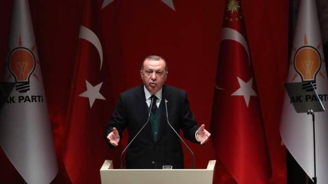 Turkey's Erdogan blames Washington for 'heinous economic attack'