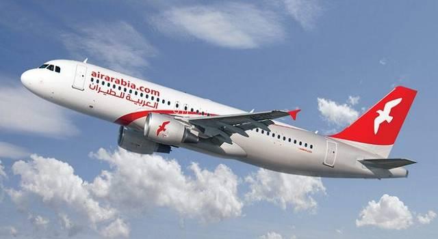 طائرة تابعة لشركة العربية للطيران
