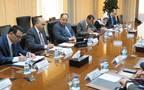 جانب من اجتماع الوزيرين