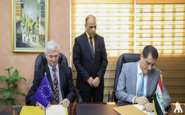 Iraq signs a financing agreement with the European Union for € 41.5 million