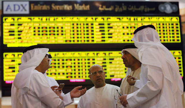 The market cap value rose by AED 1.42bn
