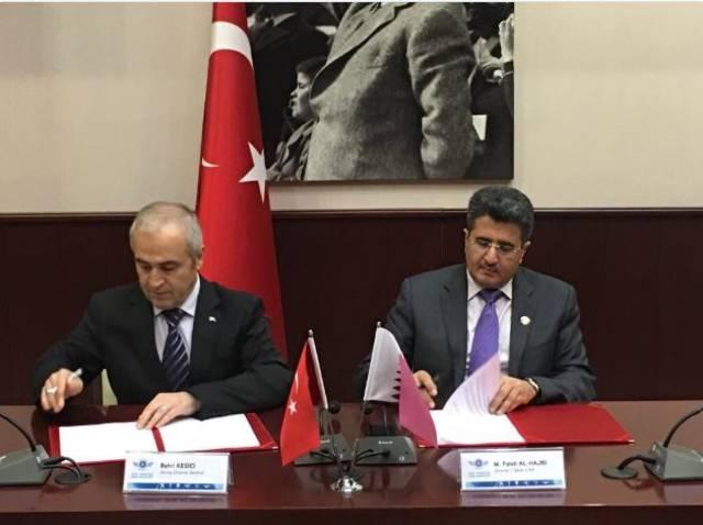 قطر توقع اتفاقية لمضاعفة الرحلات الجوية إلى تركيا