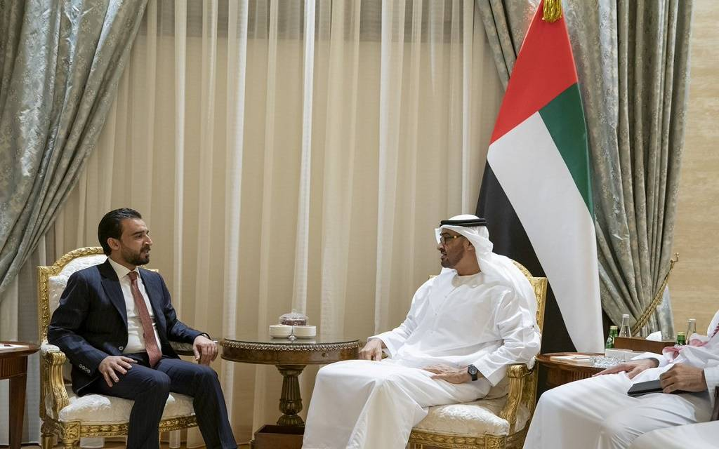 Speaker of the House of Representatives meets Sheikh Mohammed bin Zayed 1024