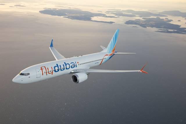 إحدى طائرات شركة فلاي دبي