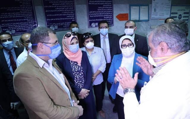 وزيرة الصحة في جولة تفقدية للمستشفيات