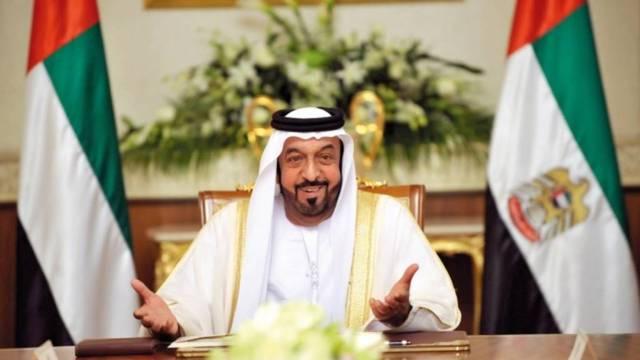 الشيخ خليفة بن زايد آل نهيان، رئيس دولة الإمارات، الصورة أرشيفية