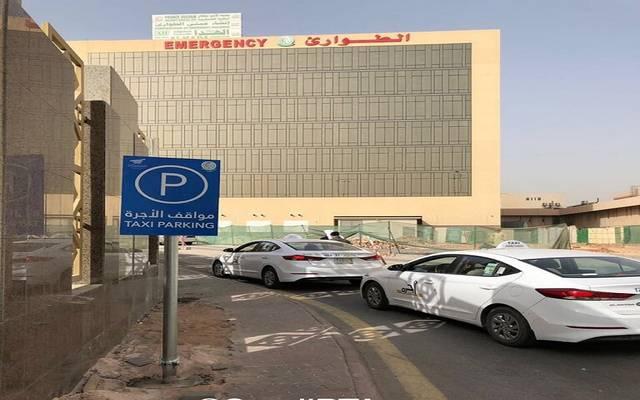 أحد مواقف سيارات الأجرة بالسعودية