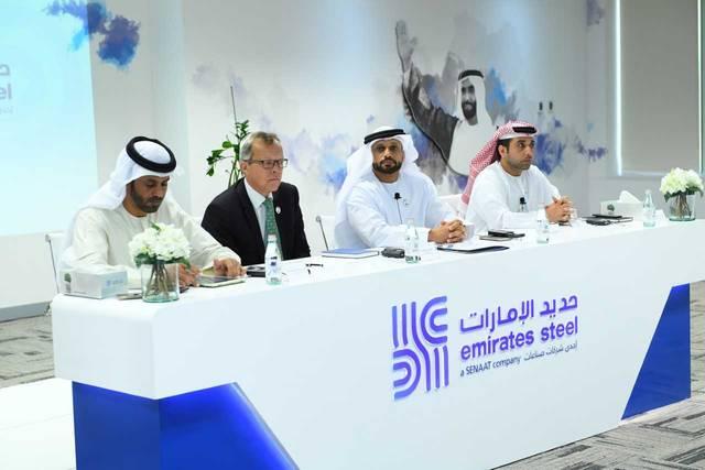 """الرئيس التنفيذي لـ""""حديد الإمارات"""": حققنا نتائج إيجابية رغم التحديات"""