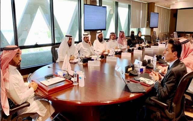 محافظ المؤسسة العامة للتدريب التقني والمهني، أحمد الفهيد، يلتقي وفداً من صندوق الاستثمارات العامة في الرياض