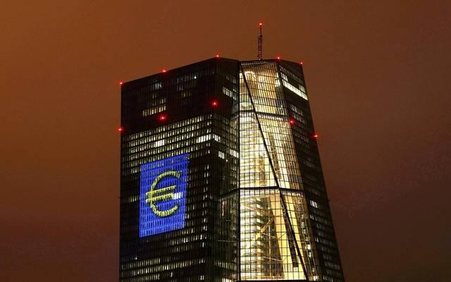 المركزي الأوروبي يُبدي نظرة أكثر تفاؤلاً حيال الاقتصاد