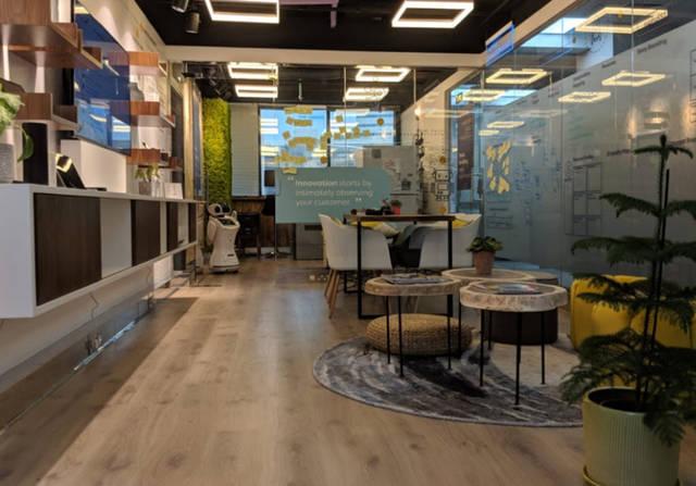 عبارة عن مساحة مخصصة تتيح للبنك تجربة الخدمات الجديدة قبل طرحها في السوق
