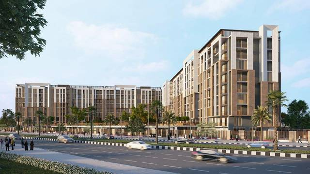 Rukan Tower provides 488 residential units
