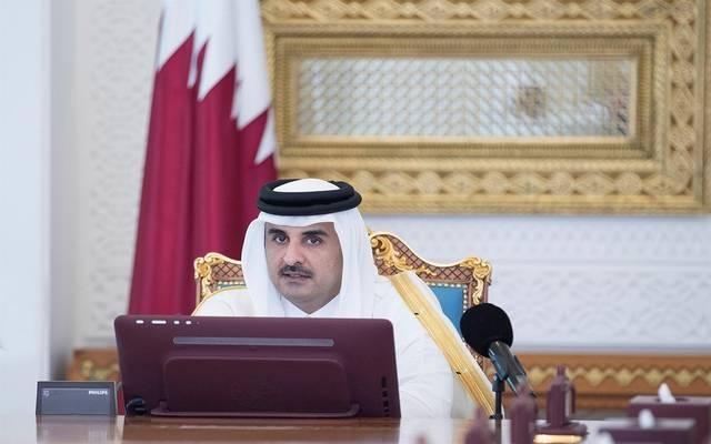 صورة أرشيفية لأمير دولة قطر تميم بن حمد آل ثاني