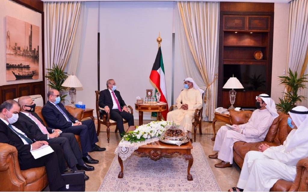 Kuwait and Iraq discuss developments in the regional and international arenas 1024