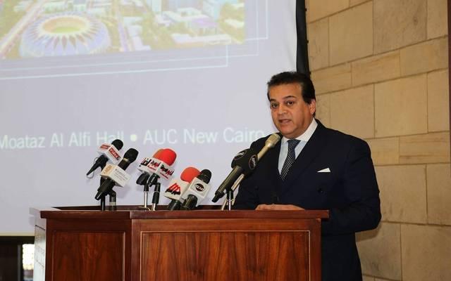 Higher education minister Khalid Abdel Ghaffar