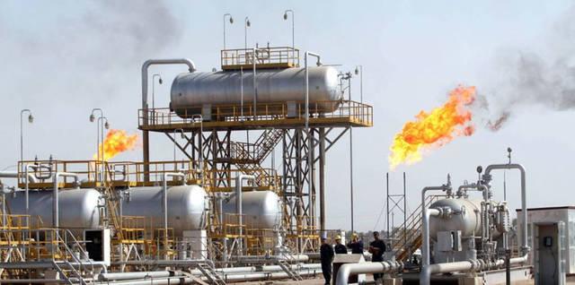 إحدى حقول النفط التابعة لشركة دانة  غاز