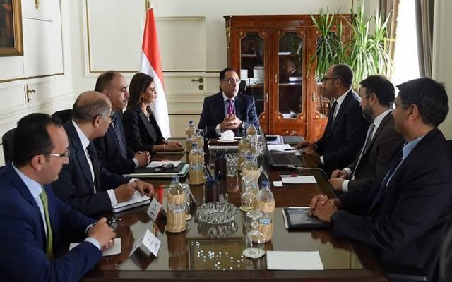 جانب من الاجتماع اليوم مع وفد البنك الدولي