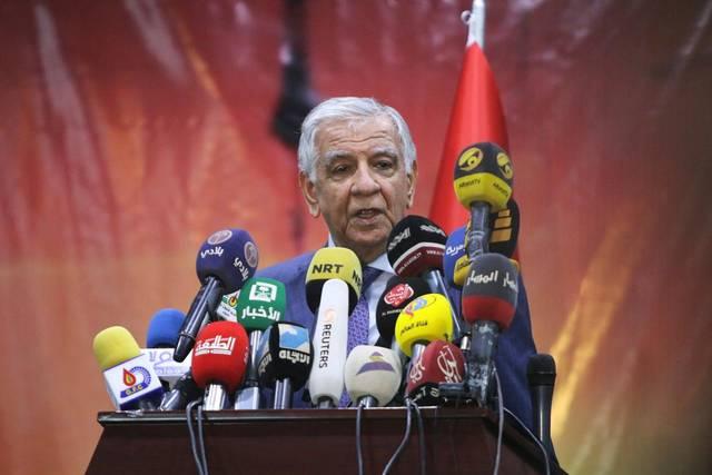 جبار اللعيبي وزير النفط العراقي
