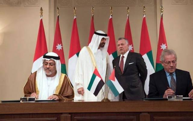 الأردن والإمارات توقعان اتفاقية تنموية بـ 100 مليون دولار